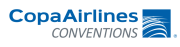 copa airlines logo lateral bar